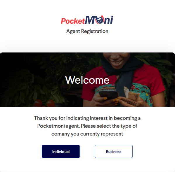 PocketMoni Agent Registration: How to Create PocketMoni Agent Acct