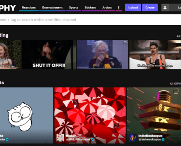 giphy gifs maker page