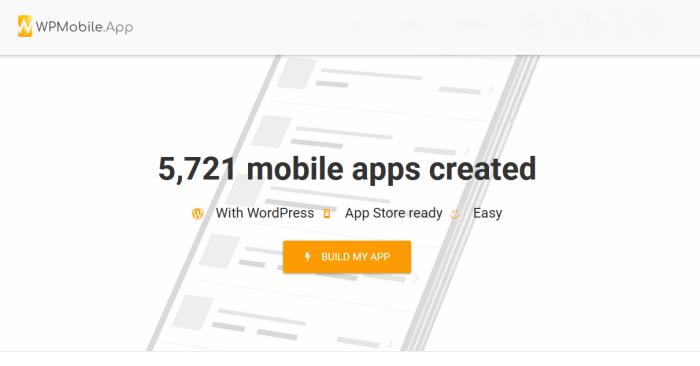 WPMobile app-mobile app builder