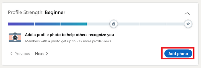 Do this to improve your LinkedIn Profile Strength Levels to unlock more potentials 2