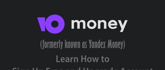 Yoomoney wallet account