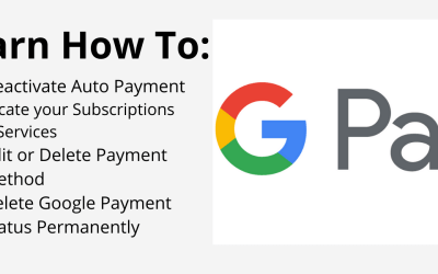 How to Deactivate Auto Payment on Google Pay – Pay.Google.com