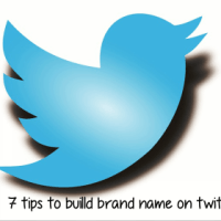 Tips to build brand name on twitter