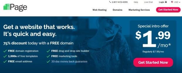 iPage - Best WordPress hosting providers