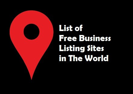 List of Free Business Listing Sites in The World