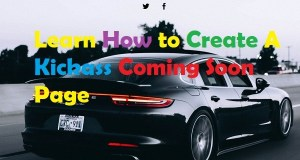 Create a coming soon page using minimal coming soon and maintenance mode plugin