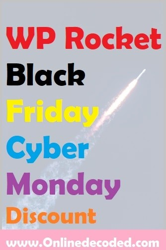 WP Rocket Black Friday Discount Sale 2020 – Save Up to 35%🔥🔥