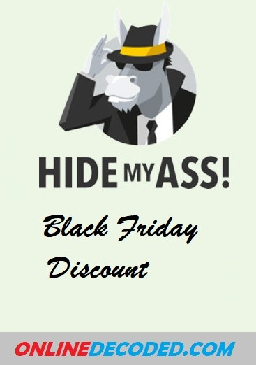 HideMyAss Black Friday Discount – Save 75%🔥