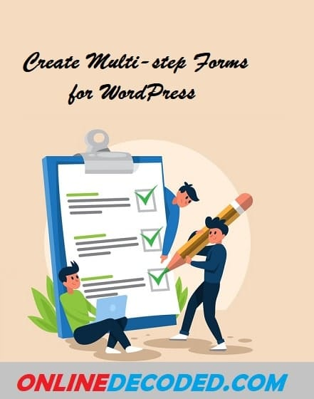 Create Multi-step Forms for WordPress - Pinterest Image