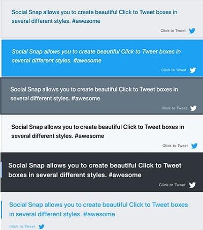 Social Snap Review - Click to Tweet
