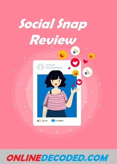 social snap review - pinterest image
