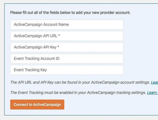 Add-Your-ActiveCampaign-account-details