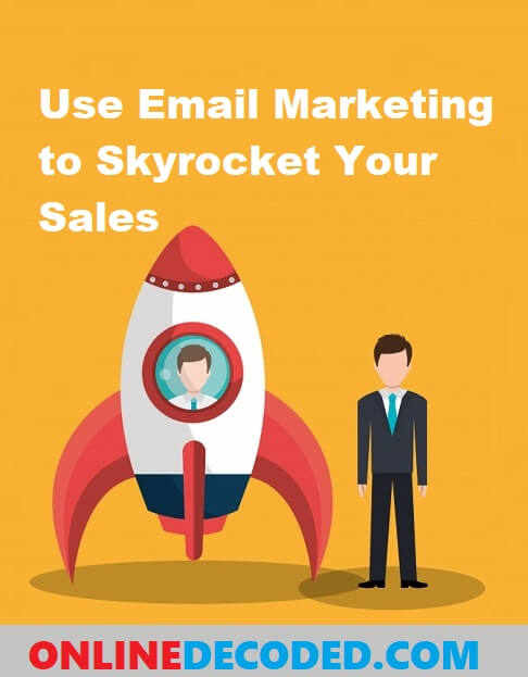 How to Use Email Marketing to Skyrocket Your Sales - Pinterest Image