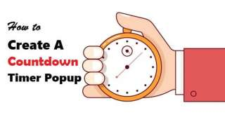 How to create a countdown timer popup