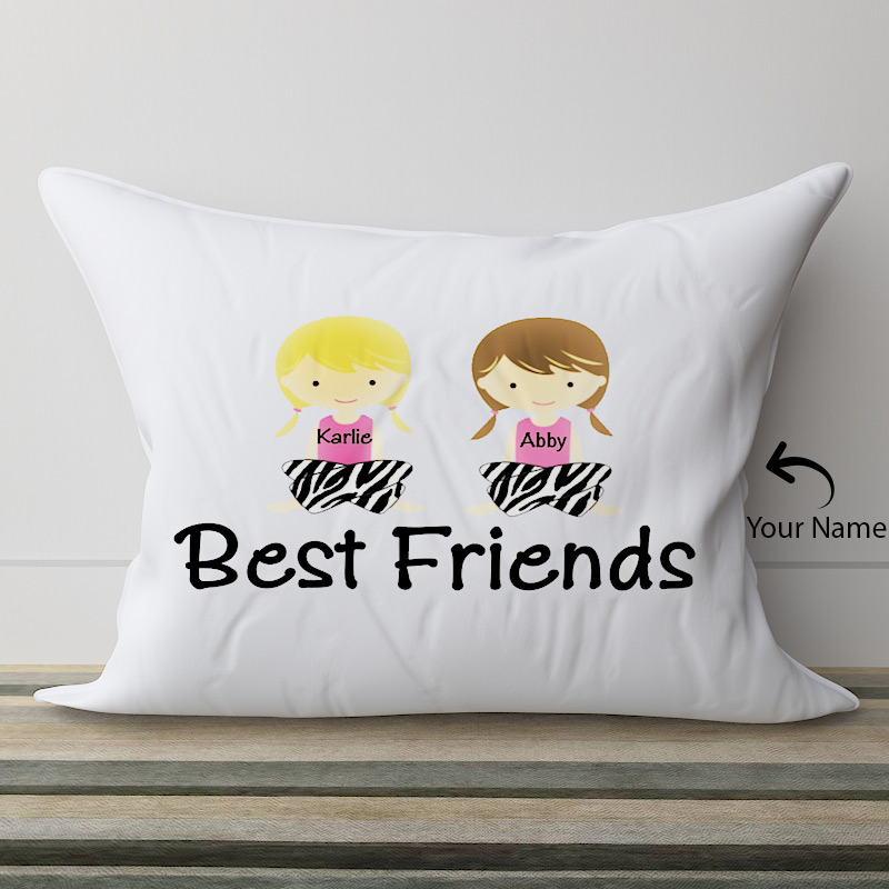 Personalized Pillow-flower basket