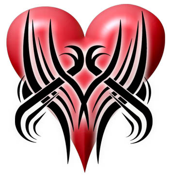 Google will give you the best tribal heart tattoo design.