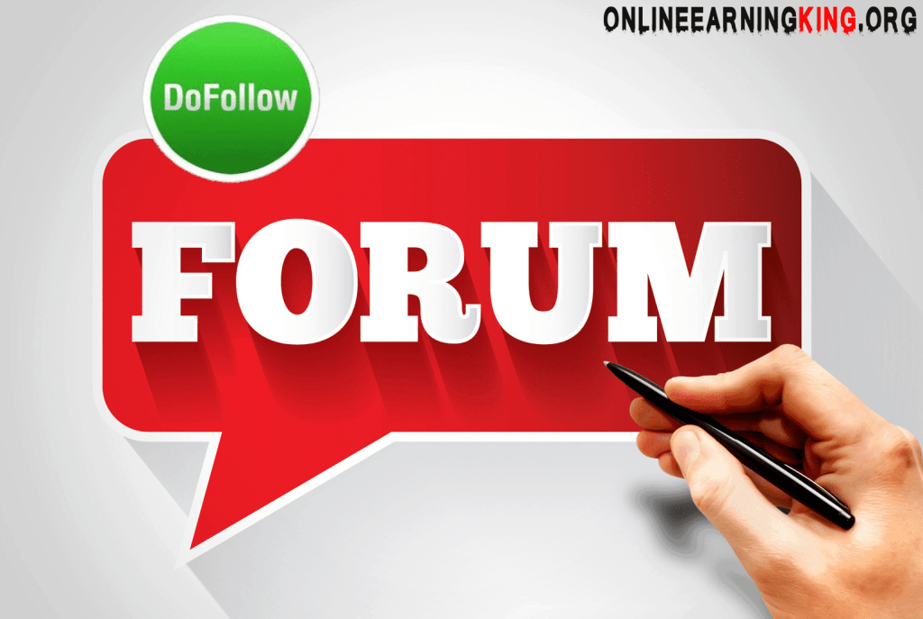 list of dofollow forums