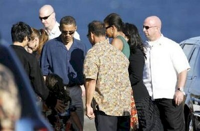 Obama's at memorial service for grandmother Madelyn Dunham