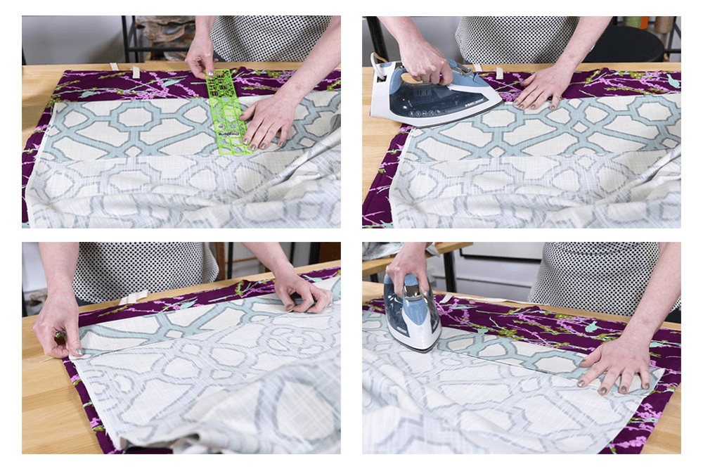 how to attach drapery weights ofs