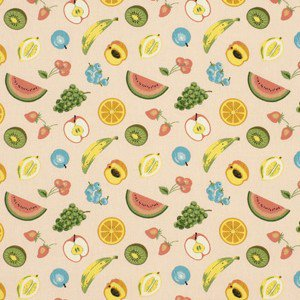 High Point Market Trends Spring 2011  Bold Fruit Patterned Fabric