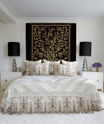 You Can Recreate These Looks By Using Your Favorite Fabric Pattern And  Making Your Own Upholstered Headboard Or By Hanging A Treasured Blanket Or  Throw ...