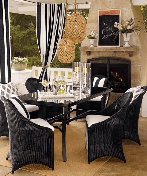 Home Decor Trend Alert Black And White Stripes Onlinefabricstore