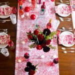 I spy...Red Paradise Lace Table Runner