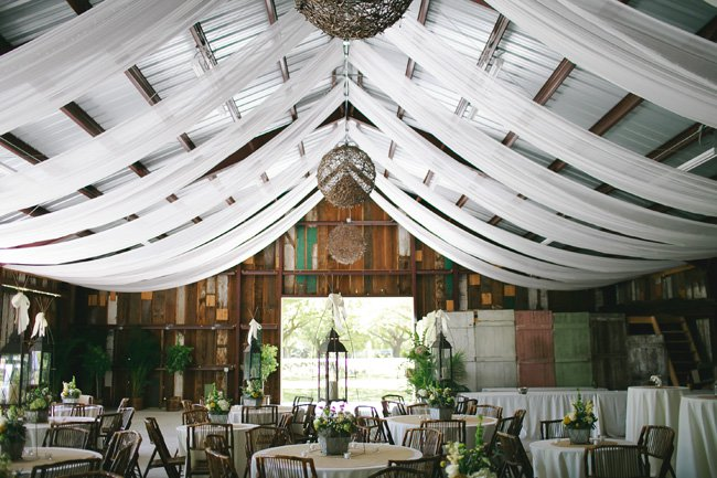 Gorgeous Barn Wedding Decor on a Budget - OnlineFabricStore.net Blog