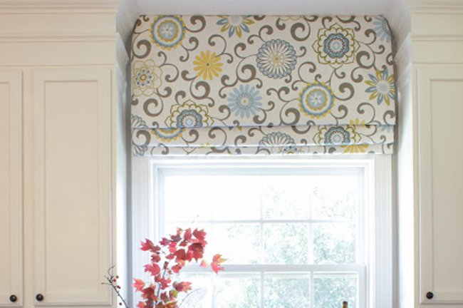 Before & After: DIY Roman Shades