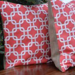 How to Make a No-Sew, Double-Sided Pillow