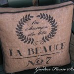 OFS All Stars: French Grain Sack Cushion