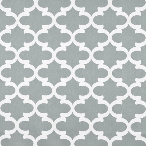 Premier Prints Fynn Cool Grey Fabric