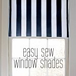 DIY Fabric Window Shade Tutorial
