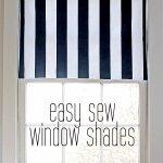 DIY Fabric Window Shade Tutorial