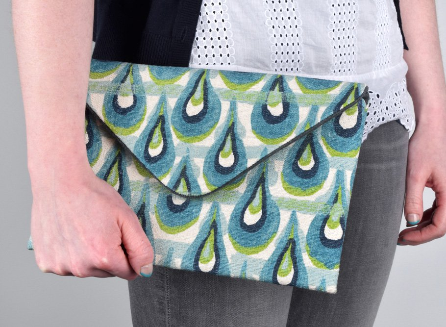 DIY Envelope Clutch (iPad / Tablet Case)