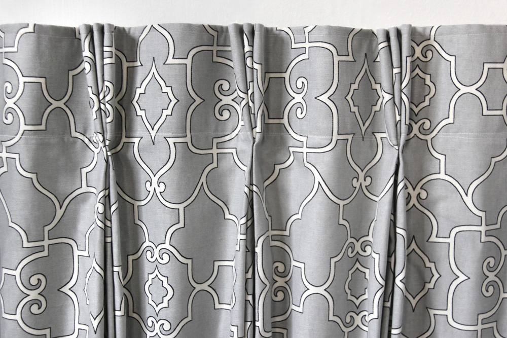 How to Make Pleated Curtains with Pleat Tape & Hooks ...