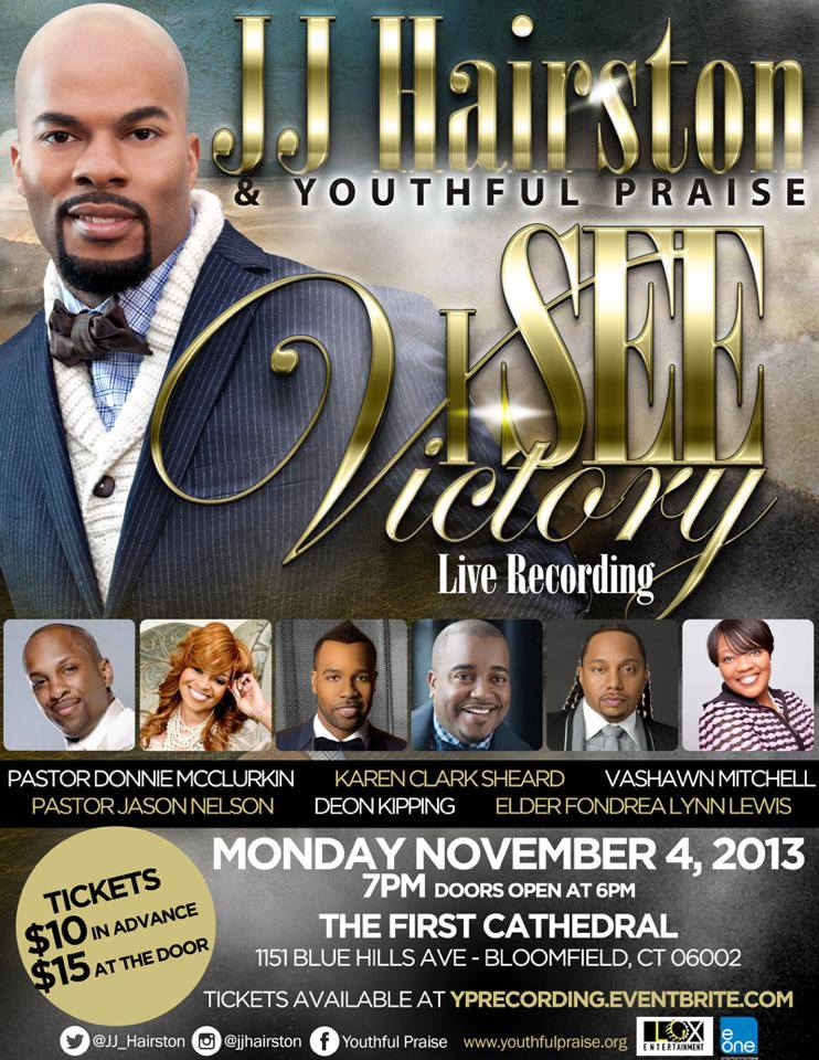 JJ Hairston and Youthful Praise – I See Victory (Live Recording)