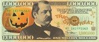 Halloween Million Dollar Bill
