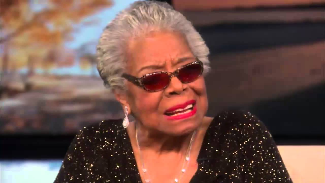 Dr. Maya Angelou – God is All; When You Die You Go Back To All (Video and Book)