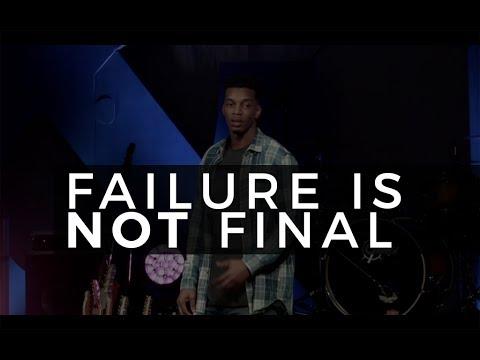 Failure is Not Final (Sermon at CIY MOVE)