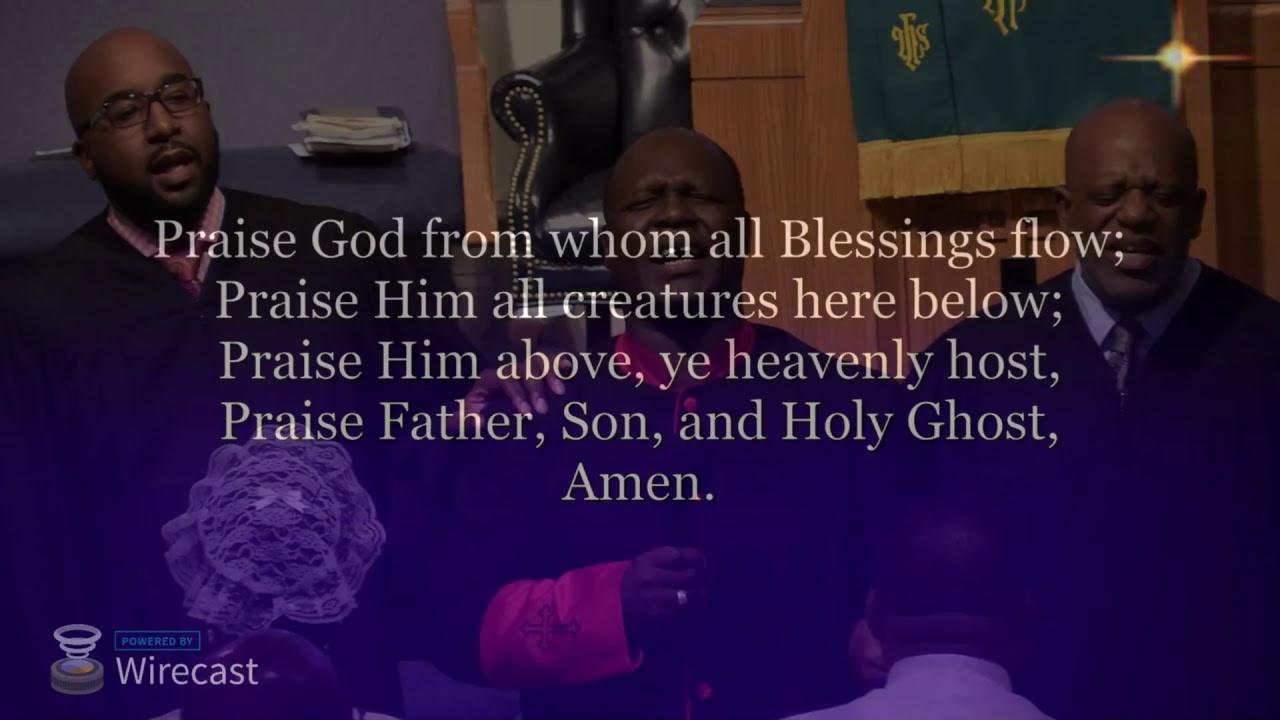 Antioch AME Church Live Stream