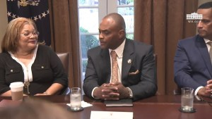 President Trump Host Round Table Discussing with Inner City Pastors 8/1/18