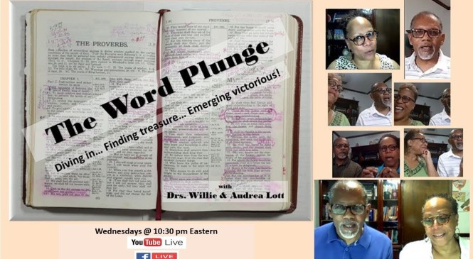 The Word Plunge with Drs. Willie & Audrea Lott 8/8/18