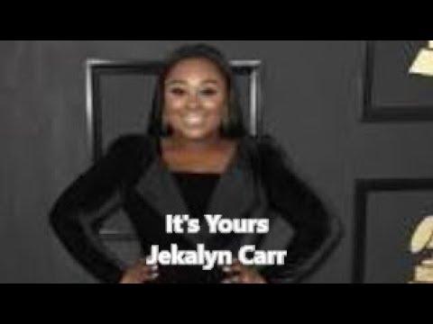 It's Yours (lyric video) by Jekalyn Carr