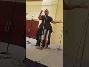WCHB 1340 w/ Psalmist Tasha Lockhart singing
