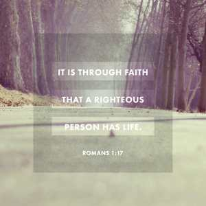 Romans 1:17 KJV