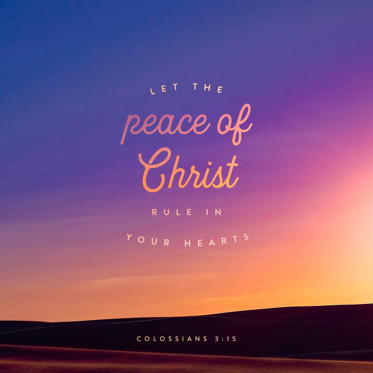 Colossians 3:15