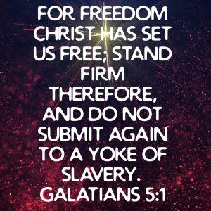 Galatians 5:1 ESV