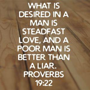 Proverbs 19:22 ESV
