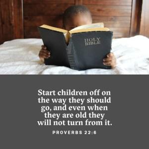 Proverbs 22:6 ESV
